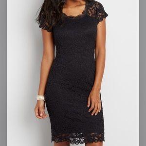 Black Lace Dress 😍